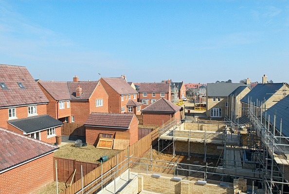 Brick Wall「New residential development in Essex, UK」:写真・画像(5)[壁紙.com]