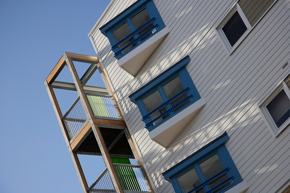 Architectural Feature「New residential development, Cambridge, UK」:写真・画像(8)[壁紙.com]