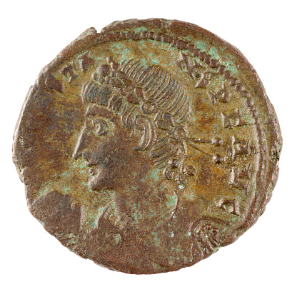 Roman「Roman bronze coin.」:スマホ壁紙(8)