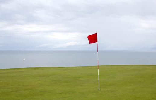 Sports Flag「Golf in Etretat」:スマホ壁紙(5)