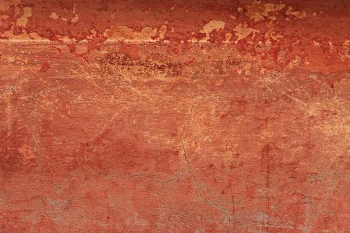 Pottery「Old reddish grungy wall texture with cracks  (XXXL)」:スマホ壁紙(10)