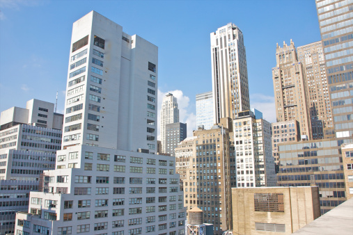 Park Avenue「Office and residential towers of Midtown Manhattan」:スマホ壁紙(19)