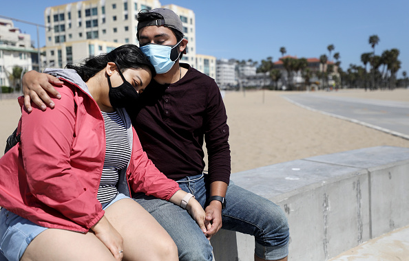Santa Monica「L.A. County Reopens Beaches And Parks Amid Coronavirus Pandemic」:写真・画像(18)[壁紙.com]