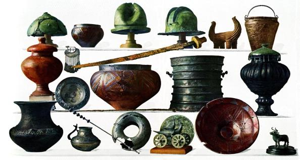 Vase「Iron Age grave-goods from Austria and Bosnia」:写真・画像(2)[壁紙.com]