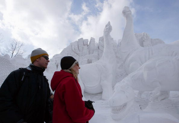 Mombetsu Ice Festival「Sapporo Snow Festival」:写真・画像(12)[壁紙.com]