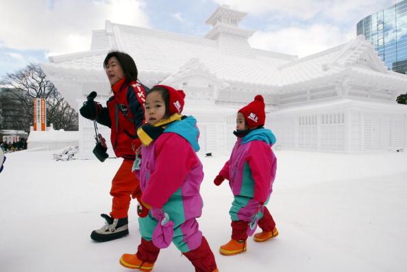 Mombetsu Ice Festival「Sapporo Snow Festival」:写真・画像(13)[壁紙.com]