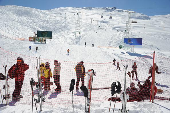 Ski Slope「Skiing In Dizin」:写真・画像(3)[壁紙.com]
