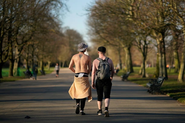 Warm Winter Temperatures Persist In The UK:ニュース(壁紙.com)