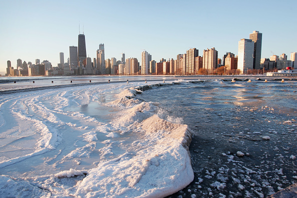 Great Lakes「Unusual Arctic Cold Grips Chicago Area」:写真・画像(12)[壁紙.com]