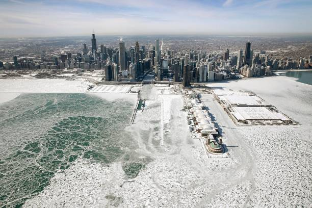 Polar Vortex Brings Extreme Cold Temperatures To Chicago:ニュース(壁紙.com)