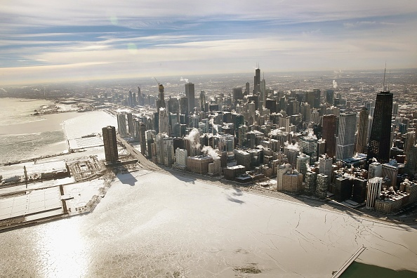 Great Lakes「Polar Vortex Brings Extreme Cold Temperatures To Chicago」:写真・画像(17)[壁紙.com]