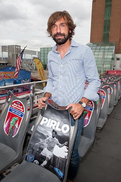 Andrea Pirlo「David Villa, Frank Lampard, Andrea Pirlo NYCFC Ride Of Fame Induction Ceremony」:写真・画像(5)[壁紙.com]