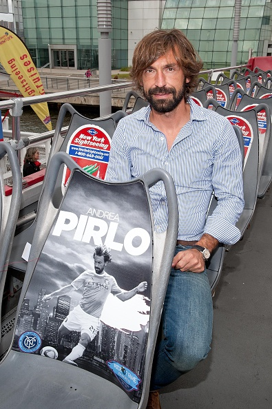 Andrea Pirlo「David Villa, Frank Lampard, Andrea Pirlo NYCFC Ride Of Fame Induction Ceremony」:写真・画像(6)[壁紙.com]