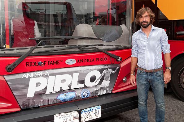 Andrea Pirlo「David Villa, Frank Lampard, Andrea Pirlo NYCFC Ride Of Fame Induction Ceremony」:写真・画像(7)[壁紙.com]