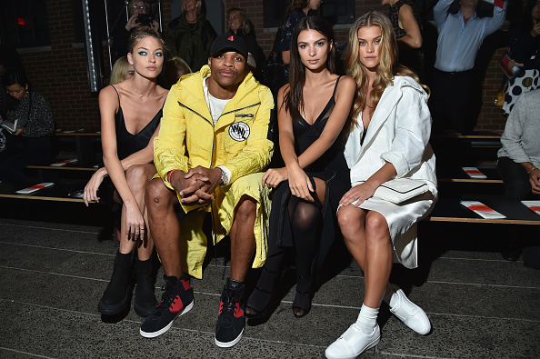 プロスポーツ選手「DKNY Women's - Front Row - September 2016 - New York Fashion Week」:写真・画像(6)[壁紙.com]