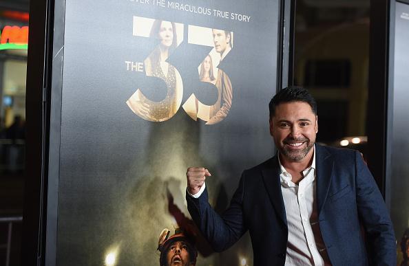 """Oscar De La Hoya「AFI FEST 2015 Presented By Audi Centerpiece Gala Premiere Of Alcon Entertainment's """"The 33"""" - Red Carpet」:写真・画像(6)[壁紙.com]"""