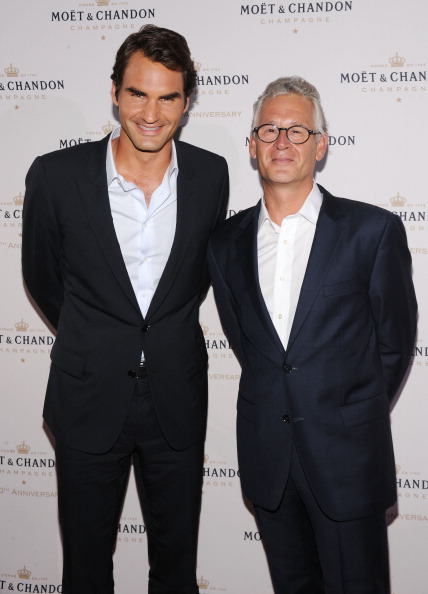 Chelsea Piers「Moet & Chandon Celebrates Its 270th Anniversary With New Global Brand Ambassador, International Tennis Champion, Roger Federer - Arrivals」:写真・画像(16)[壁紙.com]