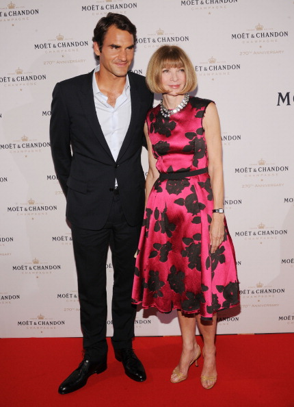Chelsea Piers「Moet & Chandon Celebrates Its 270th Anniversary With New Global Brand Ambassador, International Tennis Champion, Roger Federer - Arrivals」:写真・画像(8)[壁紙.com]
