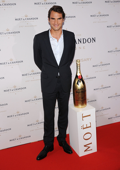 Chelsea Piers「Moet & Chandon Celebrates Its 270th Anniversary With New Global Brand Ambassador, International Tennis Champion, Roger Federer - Arrivals」:写真・画像(15)[壁紙.com]