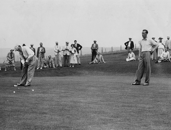 Putting Green「Ernest Whitcombe And Alf Padgham」:写真・画像(2)[壁紙.com]