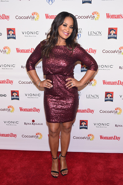 Boxer Leila Ali「14th Annual Woman's Day Red Dress Awards」:写真・画像(7)[壁紙.com]