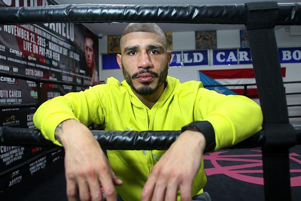 Saul Alvarez「Professional Boxer Miguel Cotto Trains With Fitbit Surge In Preparation For His Fight On Nov. 21 With Canelo Alvarez」:写真・画像(14)[壁紙.com]