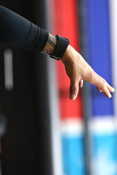 Saul Alvarez「Professional Boxer Miguel Cotto Trains With Fitbit Surge In Preparation For His Fight On Nov. 21 With Canelo Alvarez」:写真・画像(19)[壁紙.com]