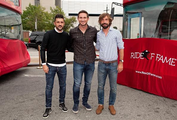 Andrea Pirlo「David Villa, Frank Lampard, Andrea Pirlo NYCFC Ride Of Fame Induction Ceremony」:写真・画像(0)[壁紙.com]