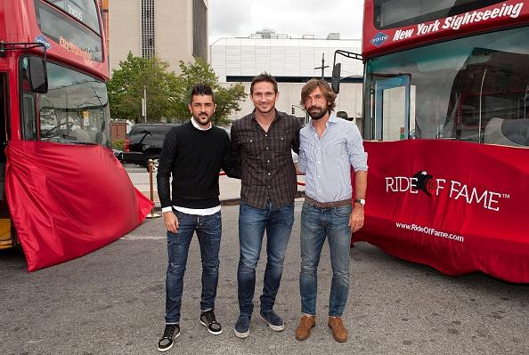 Andrea Pirlo「David Villa, Frank Lampard, Andrea Pirlo NYCFC Ride Of Fame Induction Ceremony」:写真・画像(15)[壁紙.com]