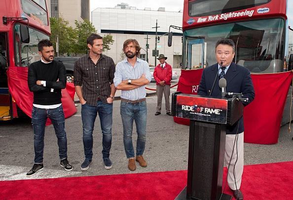 Andrea Pirlo「David Villa, Frank Lampard, Andrea Pirlo NYCFC Ride Of Fame Induction Ceremony」:写真・画像(14)[壁紙.com]
