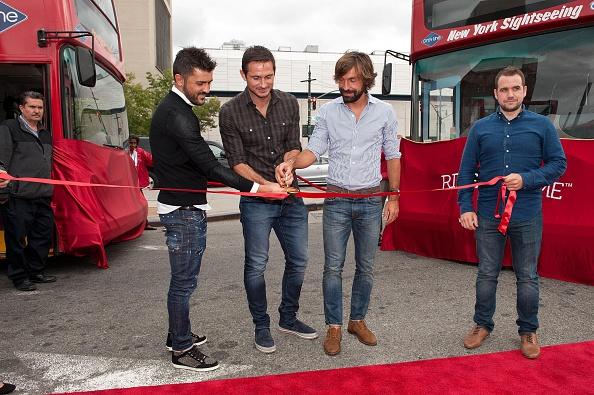 Andrea Pirlo「David Villa, Frank Lampard, Andrea Pirlo NYCFC Ride Of Fame Induction Ceremony」:写真・画像(11)[壁紙.com]