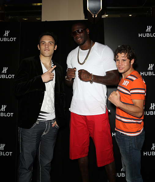 Julio Cesar Chavez Jr「HUBLOT And Floyd Mayweather Jr.: The Perfect Combination For The Fight Of The Century」:写真・画像(4)[壁紙.com]