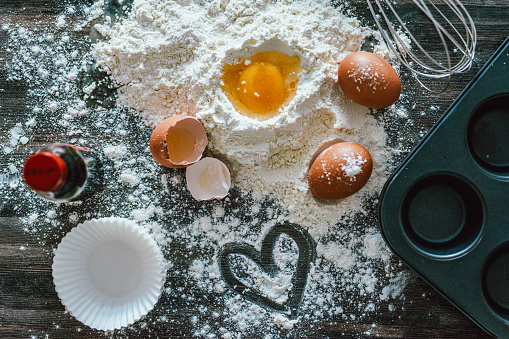 Recipe「Baking with love makes all the difference」:スマホ壁紙(0)