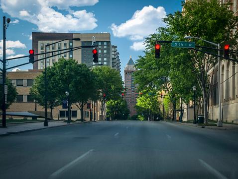 City Street「Atlanta Empty Streets During COVID-19」:スマホ壁紙(16)