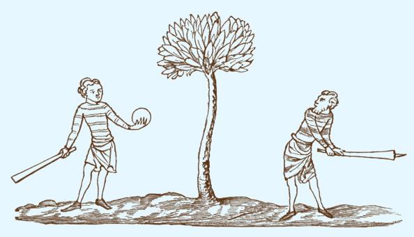 Circa 14th Century「Club-ball, early 14th century」:写真・画像(17)[壁紙.com]