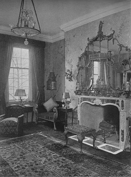 Reception Room, House Of Miss Anne Morgan, New York City, 1924:ニュース(壁紙.com)