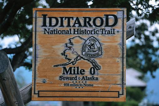 Dogsledding「Beginning of the Iditarod Trail」:スマホ壁紙(11)