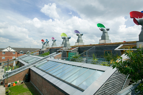 Environmental Conservation「Bedzed, the UK's largest eco village, Beddington, London」:写真・画像(13)[壁紙.com]