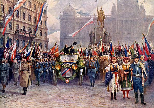 チェコ共和国「Tomas Garrigue Masaryk - entry into Prague, 1918.  Campaigner for Czech independence.  Czechoslovakia's first President.」:写真・画像(5)[壁紙.com]