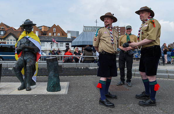 Finnbarr Webster「Baden-Powell Statue To Be Removed From Poole Quay」:写真・画像(6)[壁紙.com]