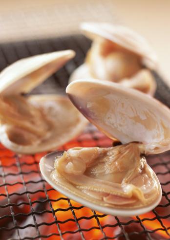 はまぐり料理「Broiled clams」:スマホ壁紙(14)