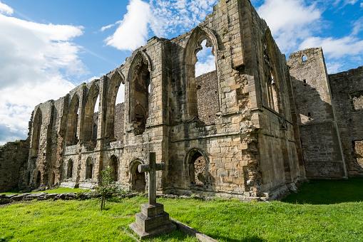 Abbey - Monastery「Easby Abbey ruins」:スマホ壁紙(6)
