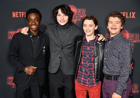 "Noah Schnapp「Premiere Of Netflix's ""Stranger Things"" Season 2 - Arrivals」:写真・画像(17)[壁紙.com]"