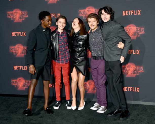 "Noah Schnapp「Premiere Of Netflix's ""Stranger Things"" Season 2 - Arrivals」:写真・画像(13)[壁紙.com]"