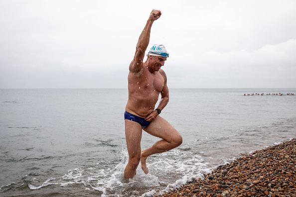 Concepts「UN Patron Of The Oceans Completes 'Long Swim' From Land's End To Dover」:写真・画像(17)[壁紙.com]