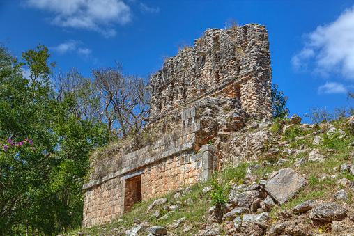 High Dynamic Range Imaging「El Mirador, Sayil, Mayan Ruins」:スマホ壁紙(4)