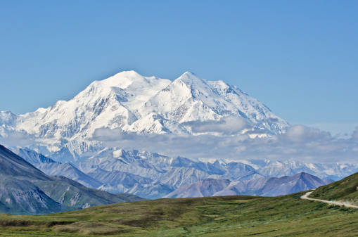 Alaska Range「Denali National Park and Mount McKinley」:スマホ壁紙(16)