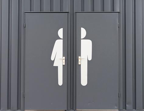 Gender Symbol「Germany, Male and female sign on toilet door」:スマホ壁紙(2)