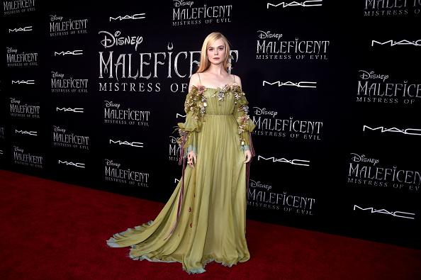 "Elle Fanning「World Premiere of Disney's ""Maleficent: Mistress of Evil""」:写真・画像(10)[壁紙.com]"