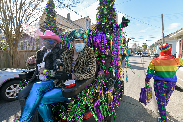 Homemade「Limited Mardi Gras Celebrations Take Place Amid Pandemic In New Orleans」:写真・画像(4)[壁紙.com]